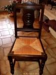 chaise avant, avant restauration, béatrice hervot